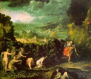 ABBATE, Niccolo dell The Rape of Proserpine  gfgf oil painting